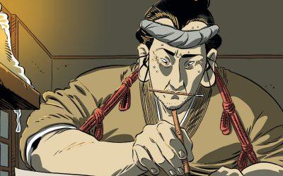 Doppia intervista agli autori di Hokusai: l'anima del Giappone
